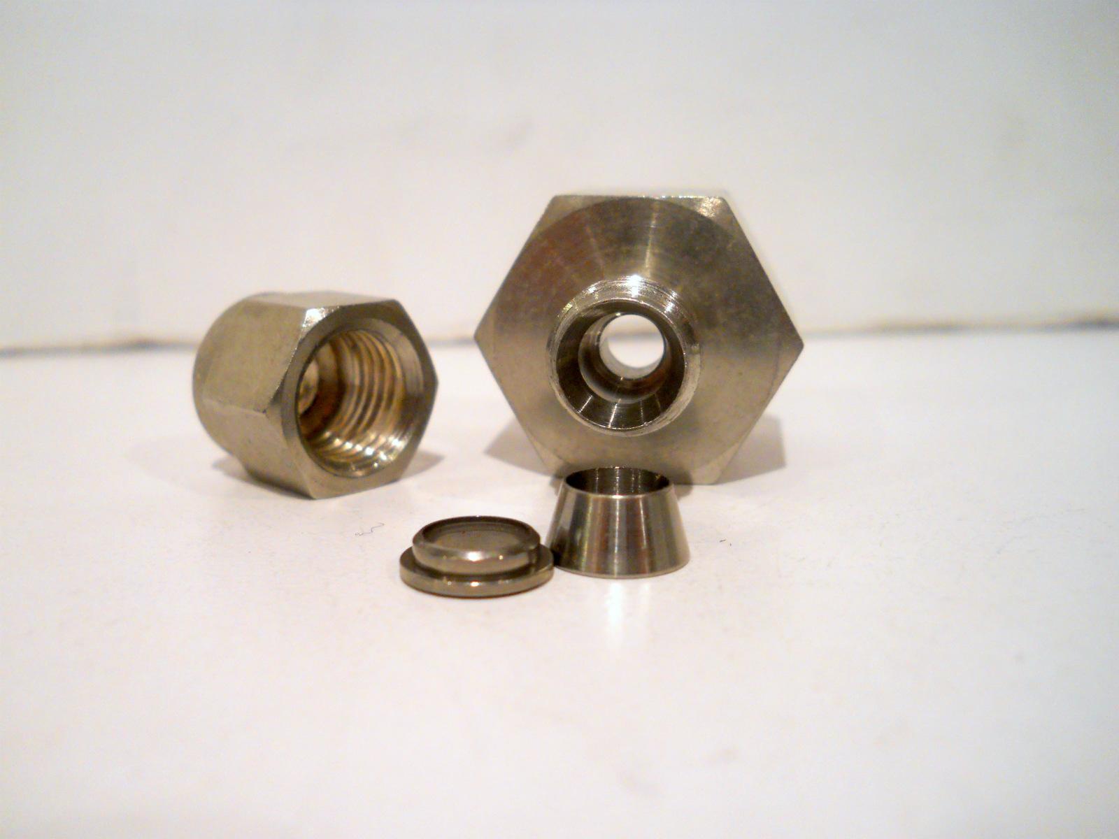 New swagelok stainless steel quot tube fnpt female