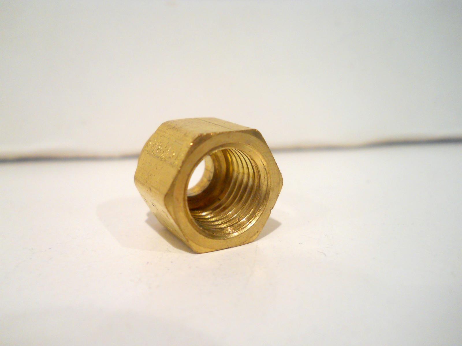 New parker brass quot tube female npt bulkhead