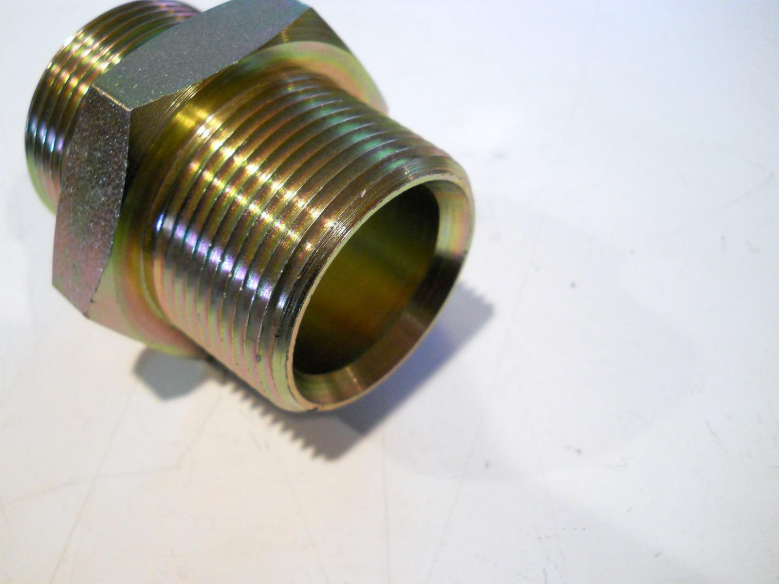 New quot steel male adapter bspp npt fmk plourde
