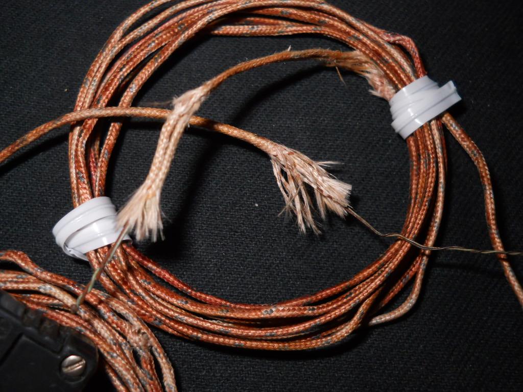 Iron Constantan Thermocouple : Marlin iron comstantan type j thermocouple black mini