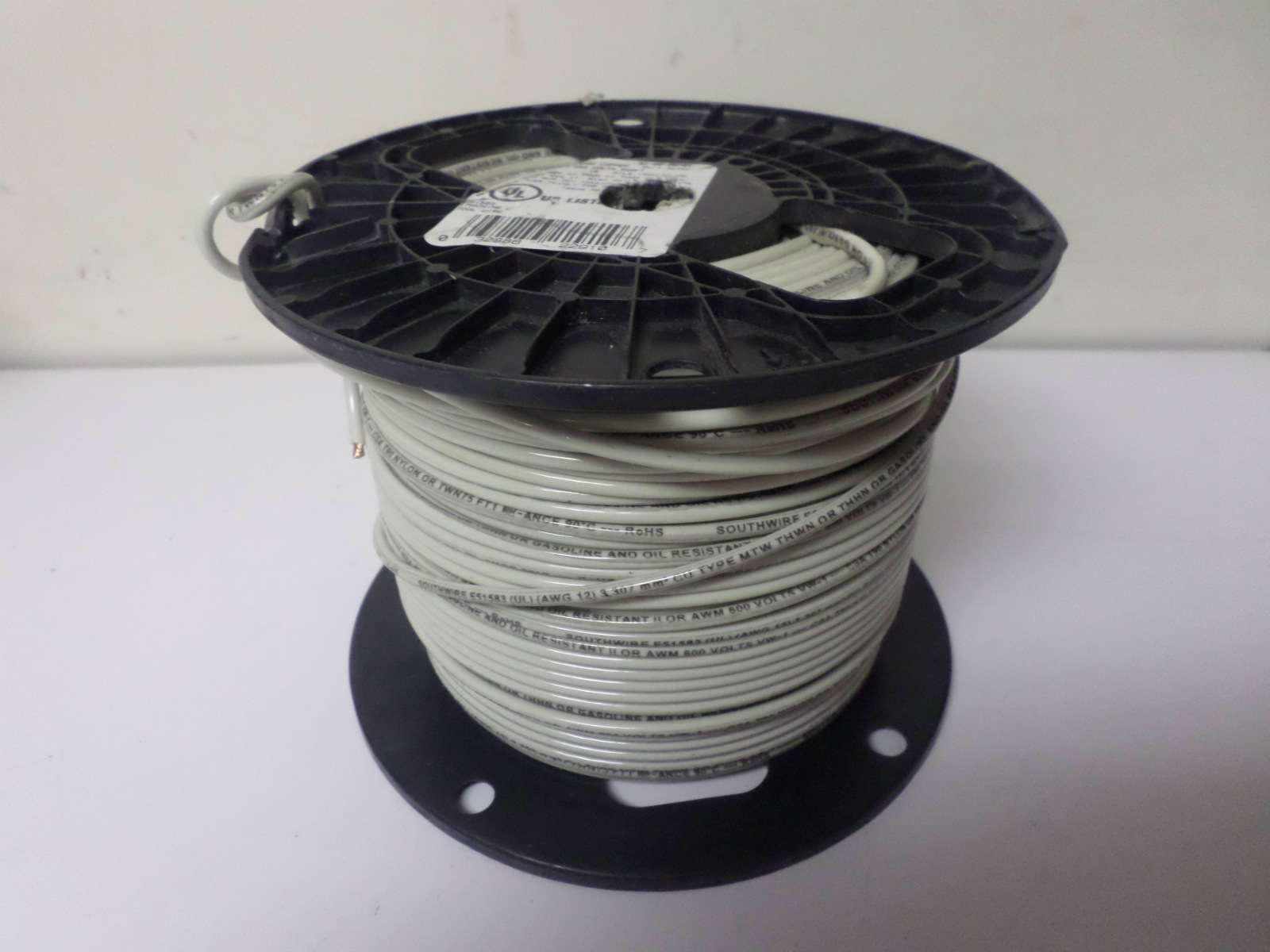 Approx. 350ft New Southwire Stranded Copper Wire, 12 AWG, 600V ...