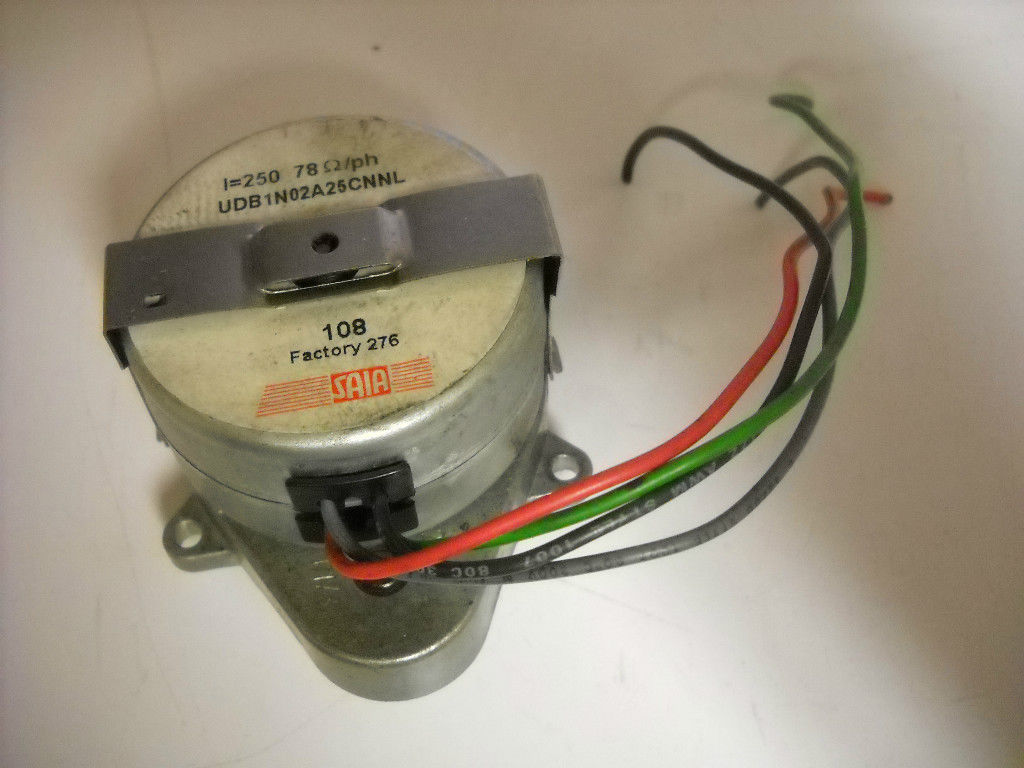 Used saia burgess rotational udb stepper motor for Stepper motor holding torque calculator