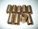 "Lot of (9) New 5/16"" Bronze Bushings, 0.3125"" ID,"