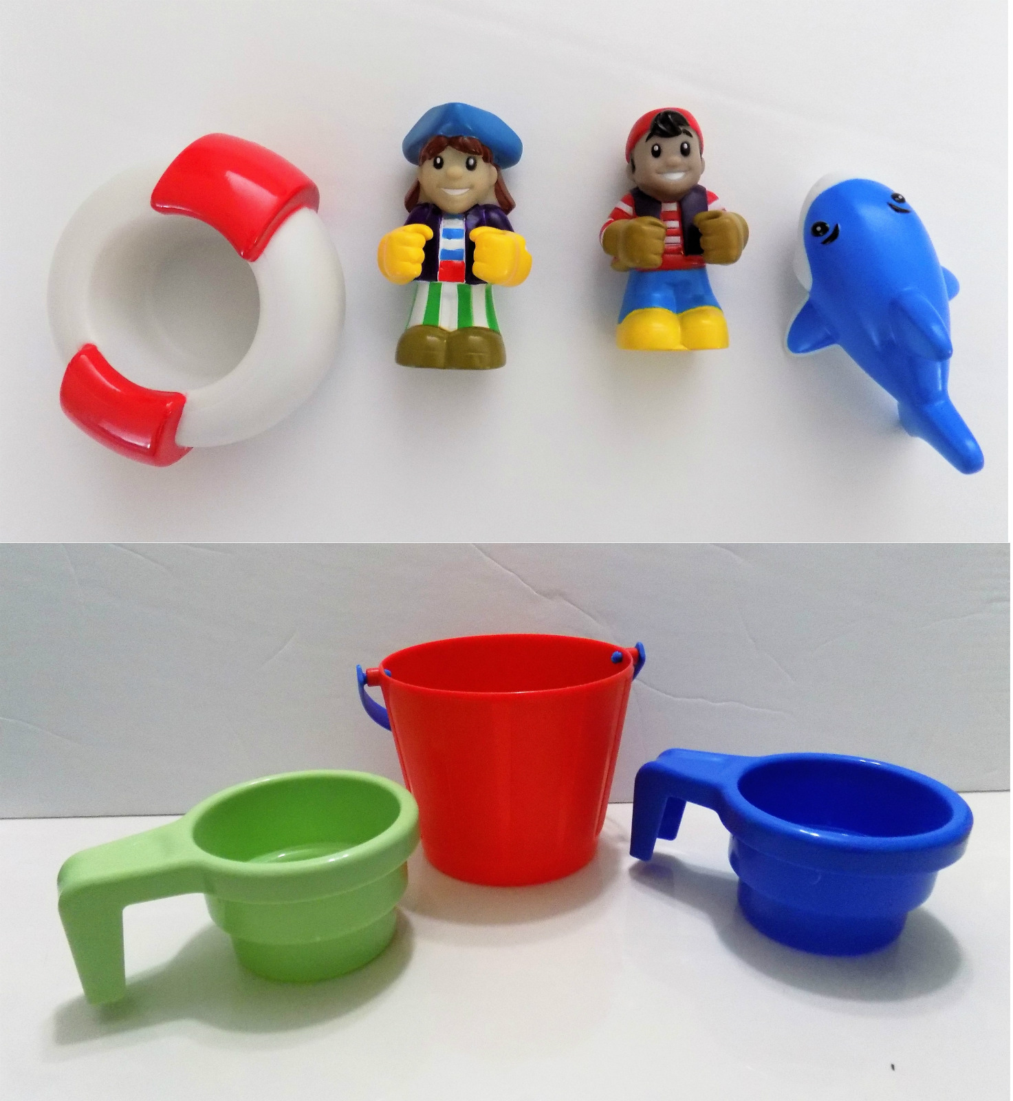 Frog Water Table For Little Tikes Replacement Parts : Little tikes anchors away pirate ship water table figures