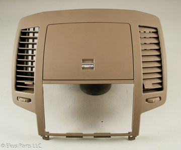 Nissan Altima 2005 2006 Interior Radio Dash Trim Bezel With Storage And Vents Ebay