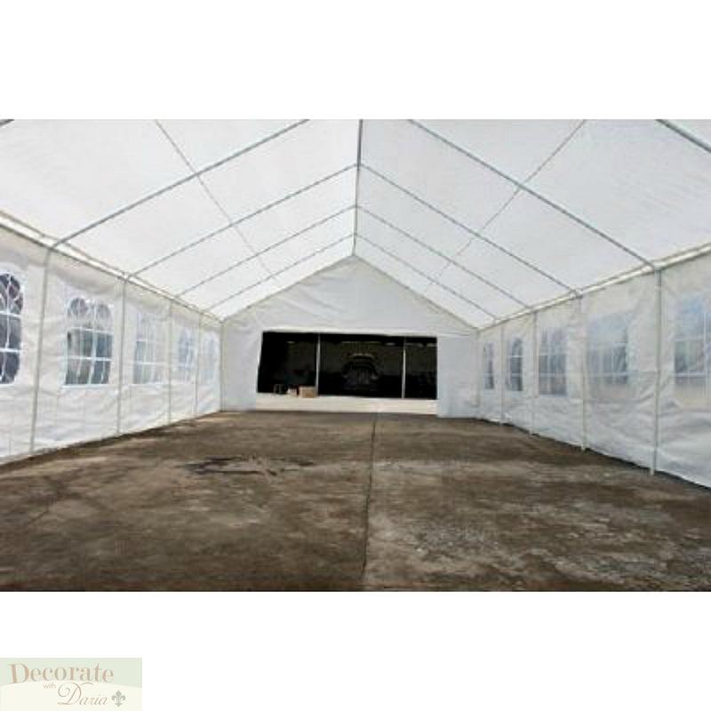 Heat Pump Canopy : Tent huge x party canopy wedding gazebo reunion