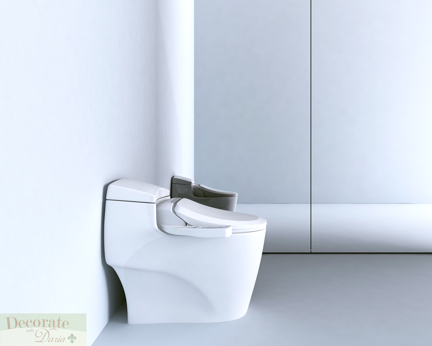 Bio Bidet Bb 600 Round Electronic Toilet Seat Heated Water