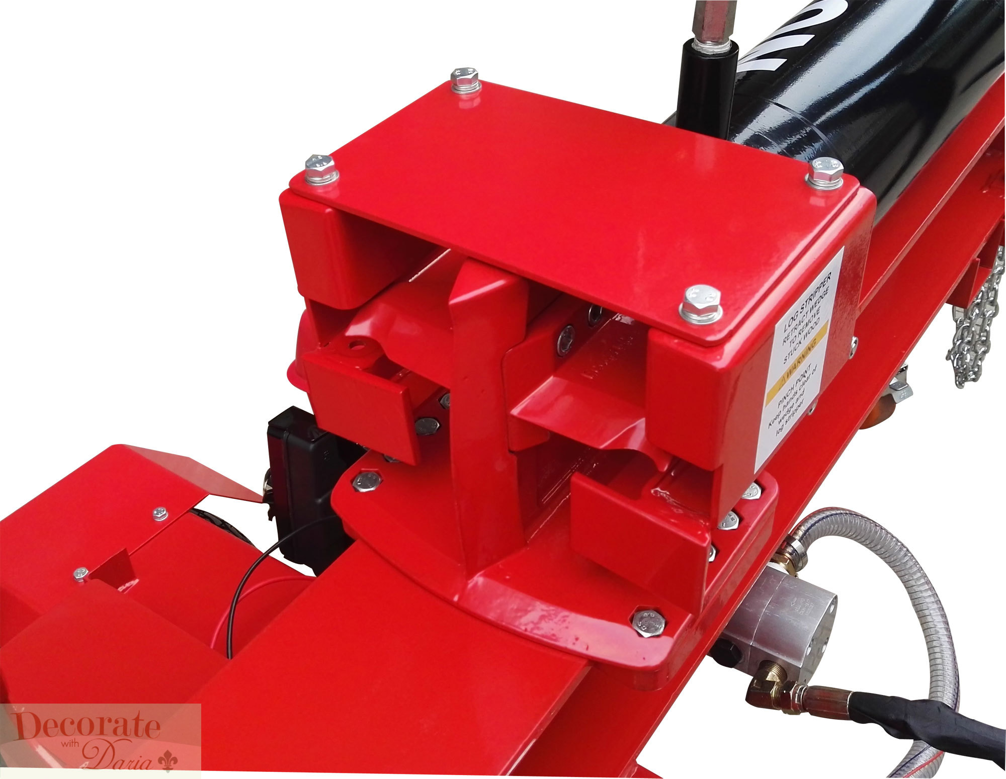 60 Ton Log Wood Splitter 15hp Gas Engine Hydraulic