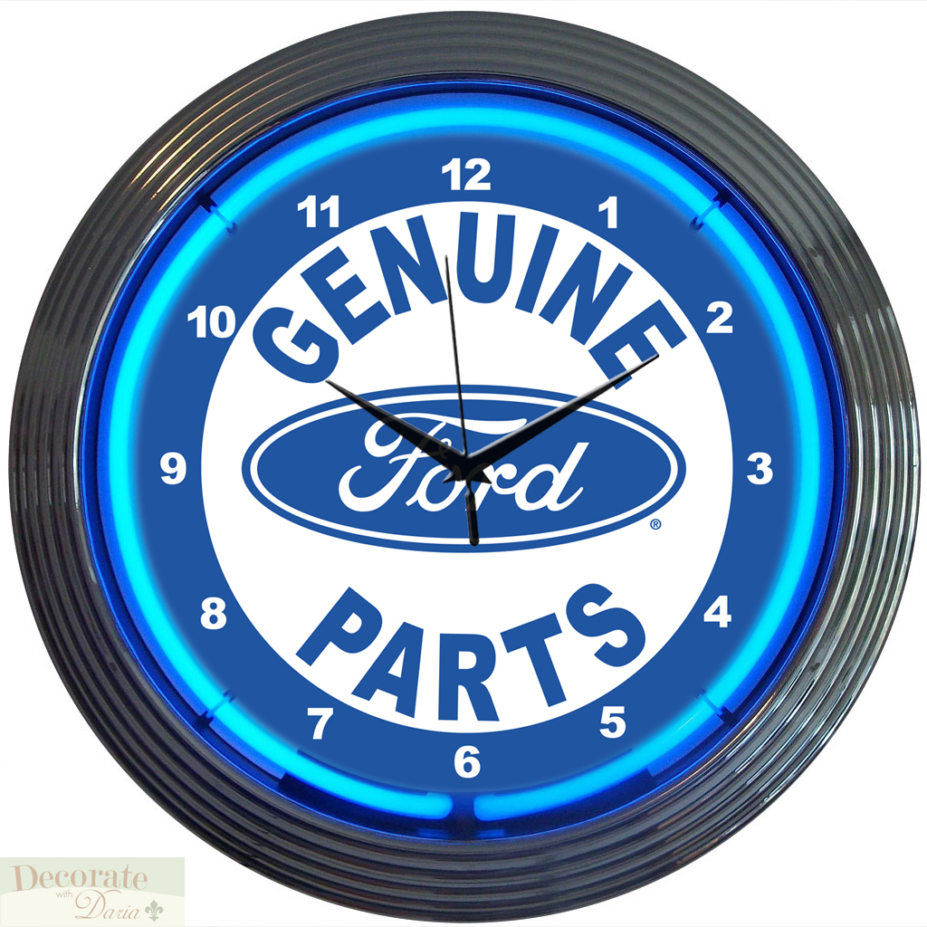 FORD GENUINE PARTS LOGO 15