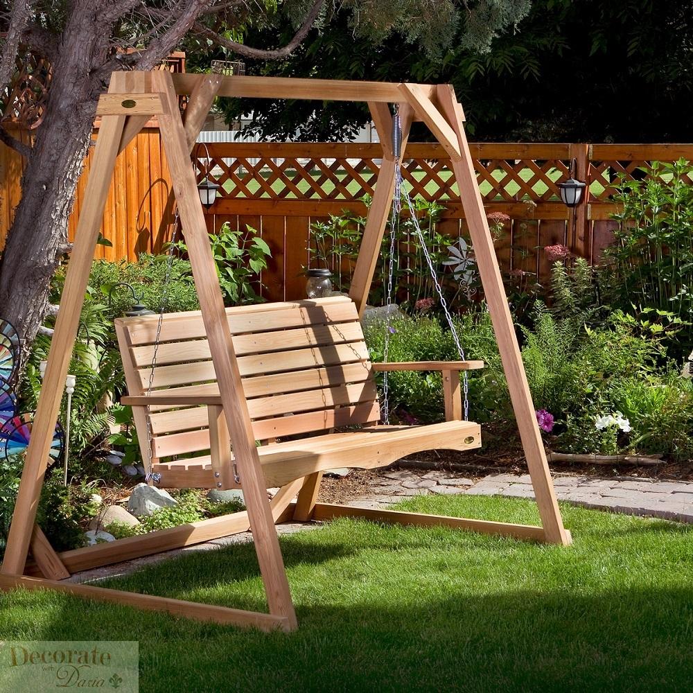 Decorate With Daria   4 U0026 39  Porch Swing W  6 U0026 39  Swing A