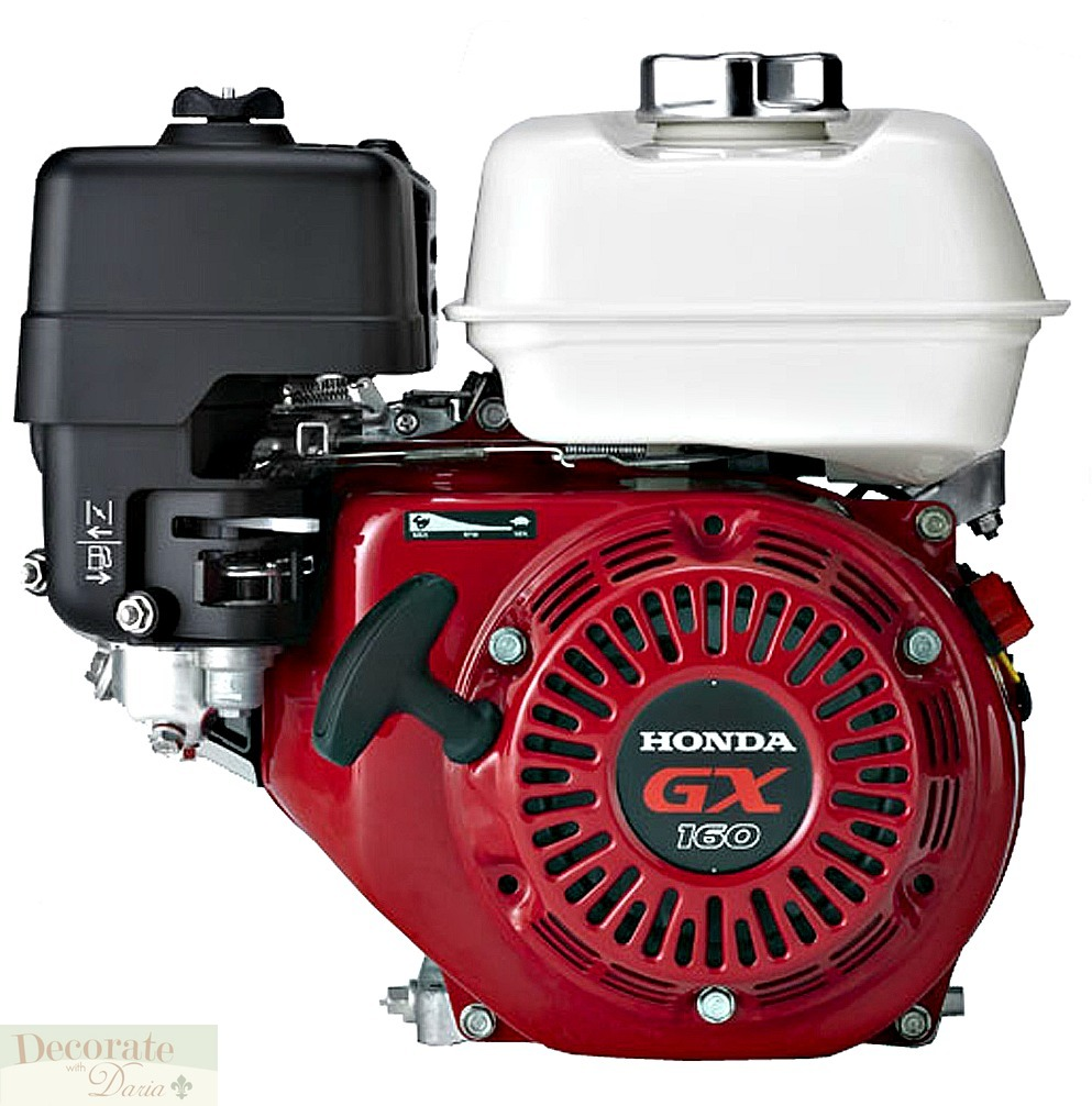 COMPACTOR PLATE HONDA 5.5HP GAS WALK BEHIND Landscape Pave Wheels Water Tank New, Decorate With ...