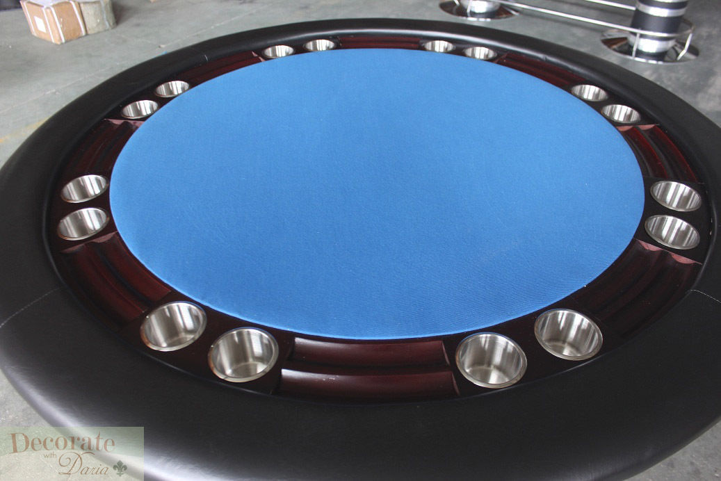 Poker table 52 round wood 8 player texas holdem card for Table 52 cards 2014