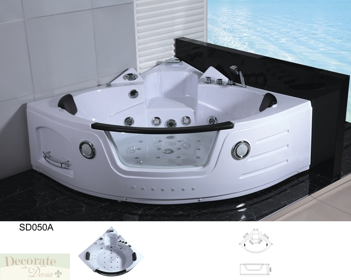 2 person bathtub corner whirlpool tub spa therapy massage 29 jets pump white new decorate with. Black Bedroom Furniture Sets. Home Design Ideas