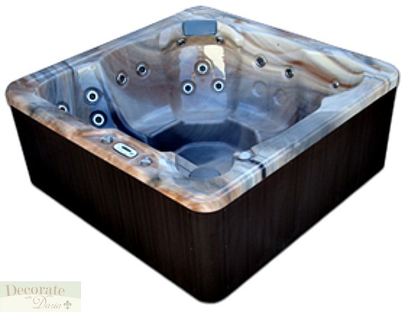 Hot Tub Spa 6 Person 1 Lounger Signature Ss 5 Usa 29 Ss
