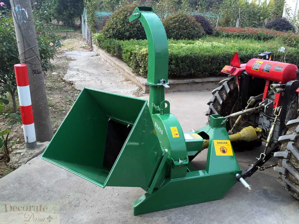 Tractor Pto Wood Chipper Leaf Shredder Mulcher 4 Quot X10 Quot Capacity 1 Yr Warranty New Decorate With
