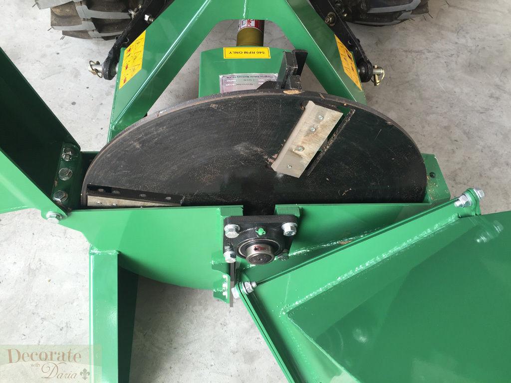 Tractor Pto Wood Chipper Leaf Shredder Mulcher 4 Quot X10