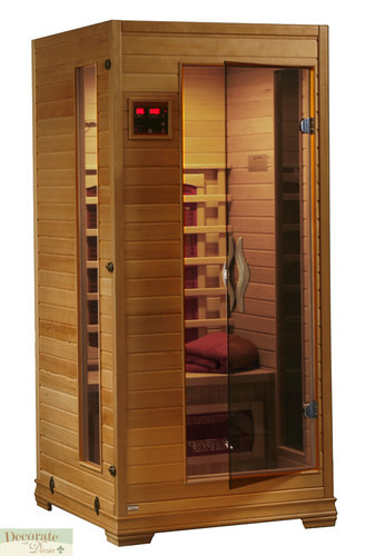 1 person sauna far infrared heat 3 ceramic heaters hemlock cd player mp3 aux new decorate with. Black Bedroom Furniture Sets. Home Design Ideas