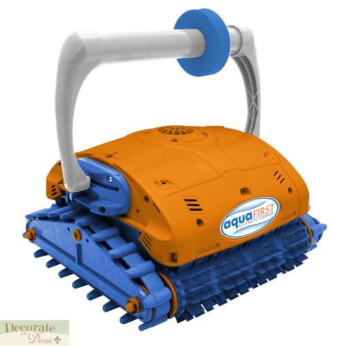 Pool Vacuum Robotic Electric Aquafirst Turbo Brush Floor