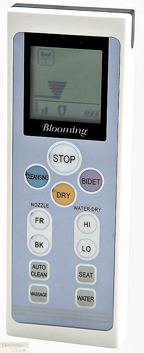 Blooming Bidet Elongated R1063 Remote Control Electric