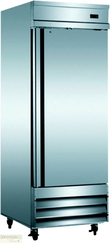 Commercial Grade Stainless Steel : description commercial grade stainless steel single soild door reach ...