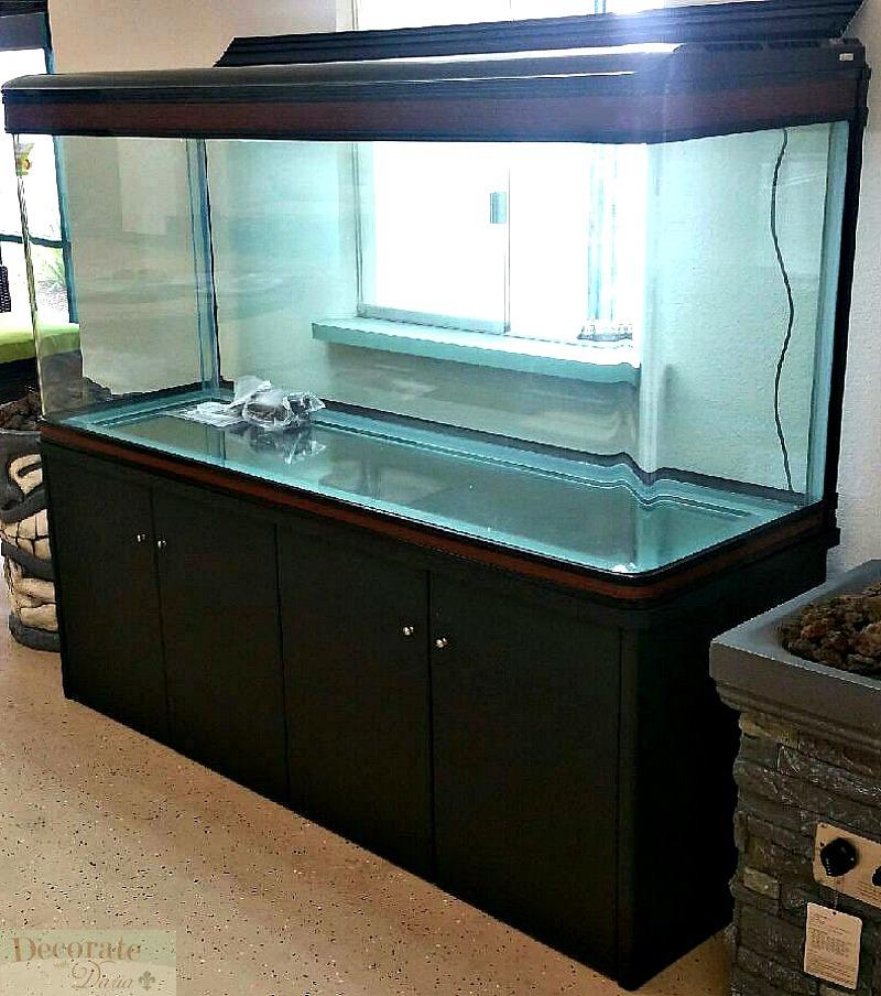new factory sealed 200 gallon fish tank aquarium introduction new