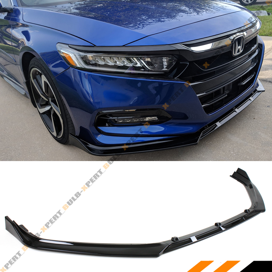 FOR 2018-2019 HONDA ACCORD JDM 3PC STYLE GLOSSY BLACK