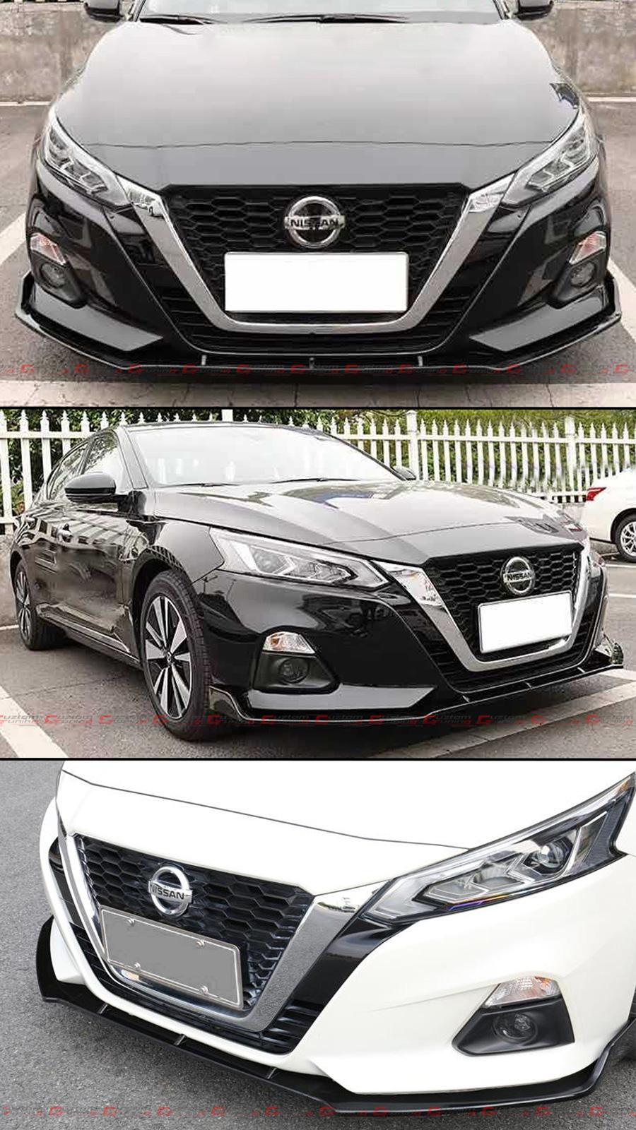 Fits for 2019-2020 Nissan Altima Sport VIP Matt Flat Black Front ...