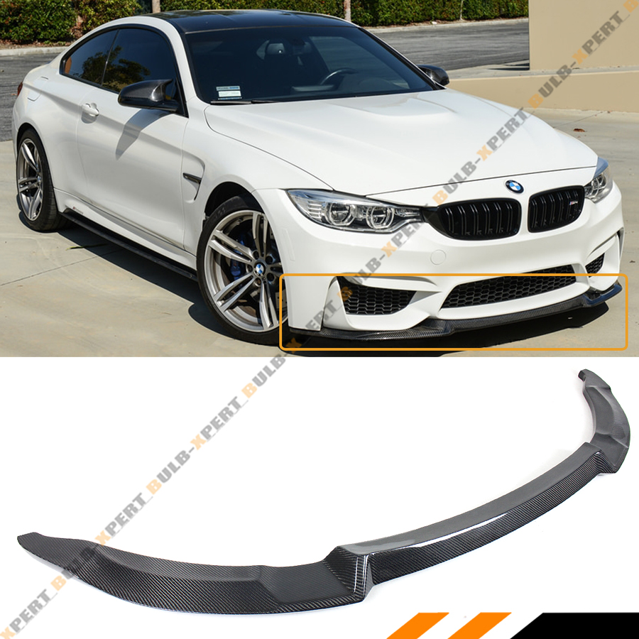 "/""GTS/"" Style F82 BMW M4 Vinyl sticker decal for front Chin Spoiler"