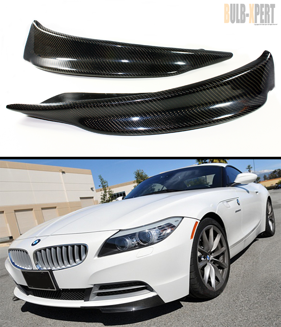 2009 Bmw Z4: CARBON FIBER SPLITTER FOR 2009-2014 BMW Z4 E89 W/ REGULAR