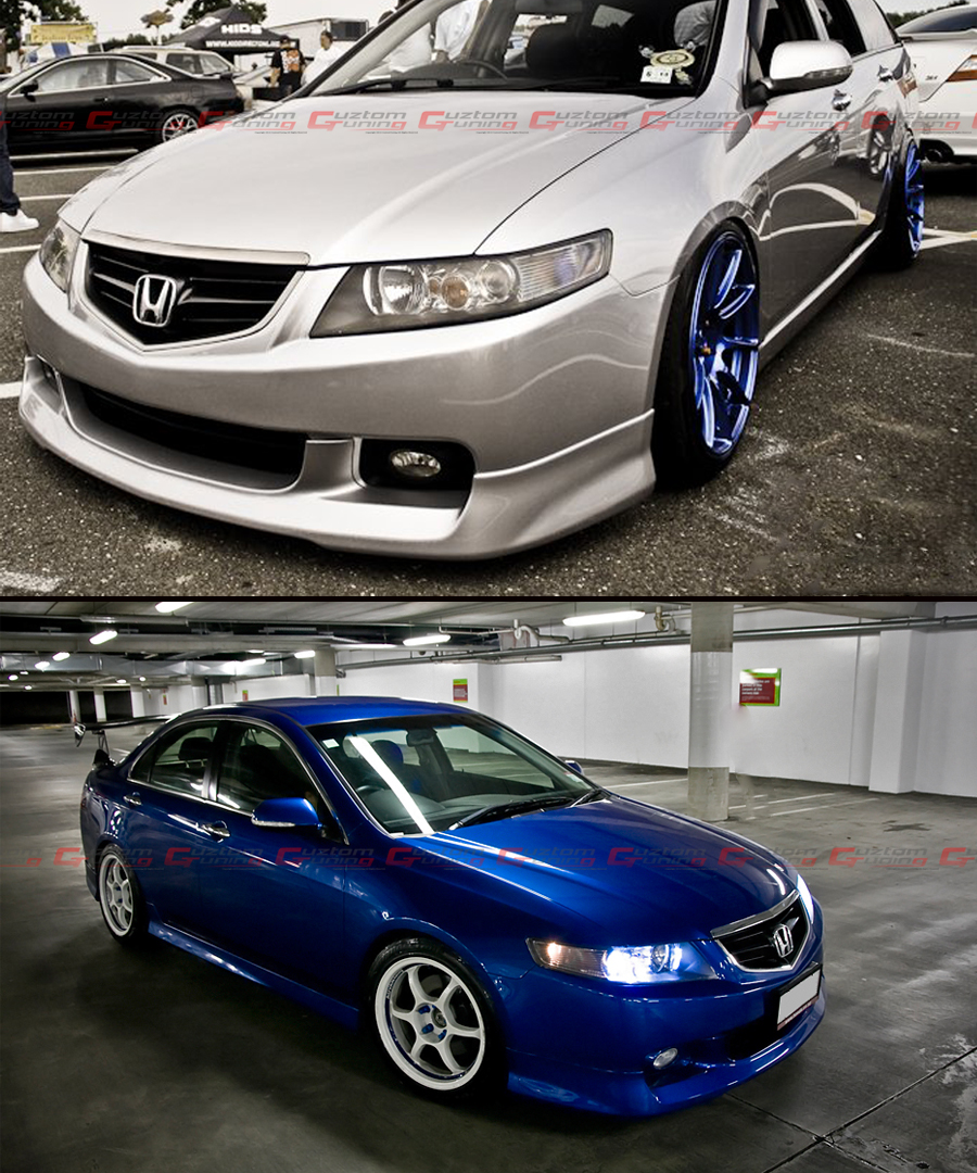 FIT FOR ACURA TSX EURO R CL7 ACCORD STYLE FRONT HOOD ...