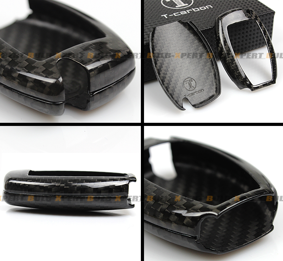 Luxury carbon fiber hard case for mercedes benz w212 w205 for Mercedes benz amg key fob back cover