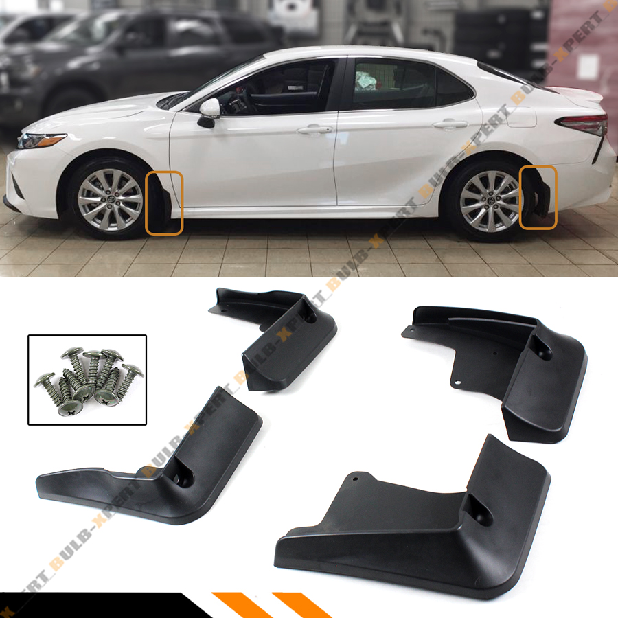 FOR 2018-19 NEW TOYOTA CAMRY SE XSE 4 PCS FRONT & REAR