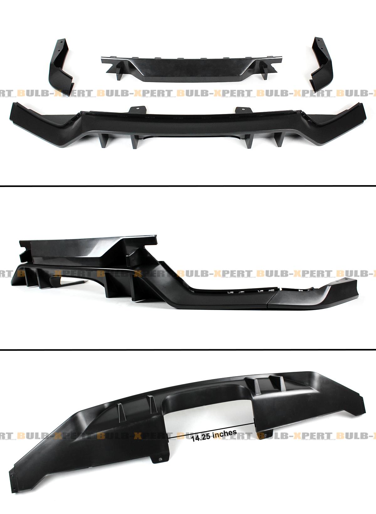 FOR 2016-2018 HONDA CIVIC FK7 HATCHBACK SPORT TYPE-R STYLE REAR BUMPER DIFFUSER | eBay