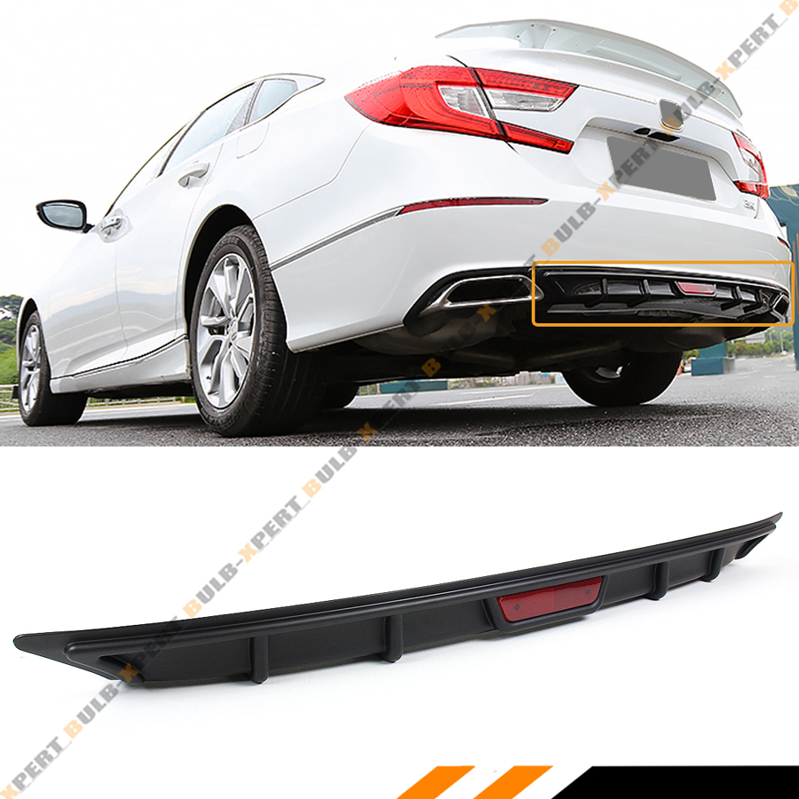 FOR 2018-2019 HONDA ACCORD 10TH GEN SPORT JDM REAR BUMPER