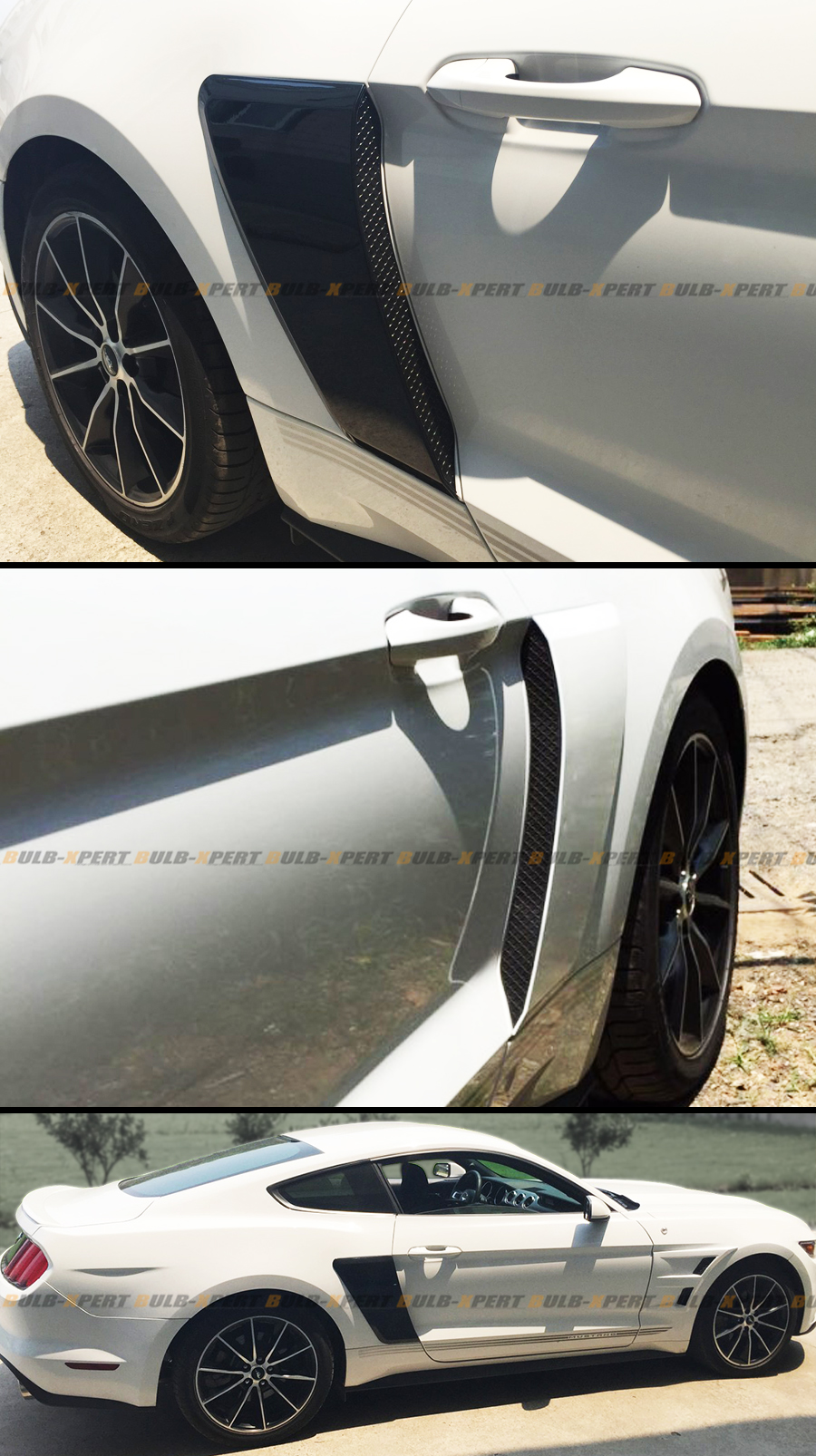 Sell For 2015-2017 Ford Mustang GT Style Rear Fender Penal