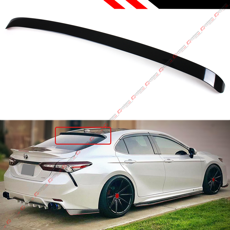 FOR 2018-19 TOYOTA CAMRY 8TH GEN SEDAN VIP GLOSSY BLACK