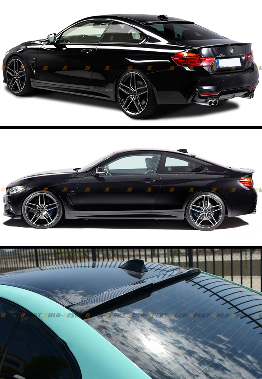 Bmw 428i Price >> 2014-2017 BMW F32 428i 435i 4 SERIES COUPE CARBON FIBER REAR ROOF SPOILER WING