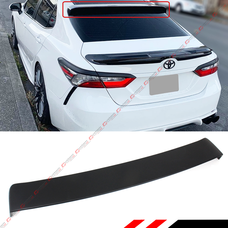 ABS Painted Carbon Fiber Coating TRD Style Trunk Wing NINTE Spoiler for 2018-2020 Toyota Camry LE//XLE//SE//XSE//Hybrid