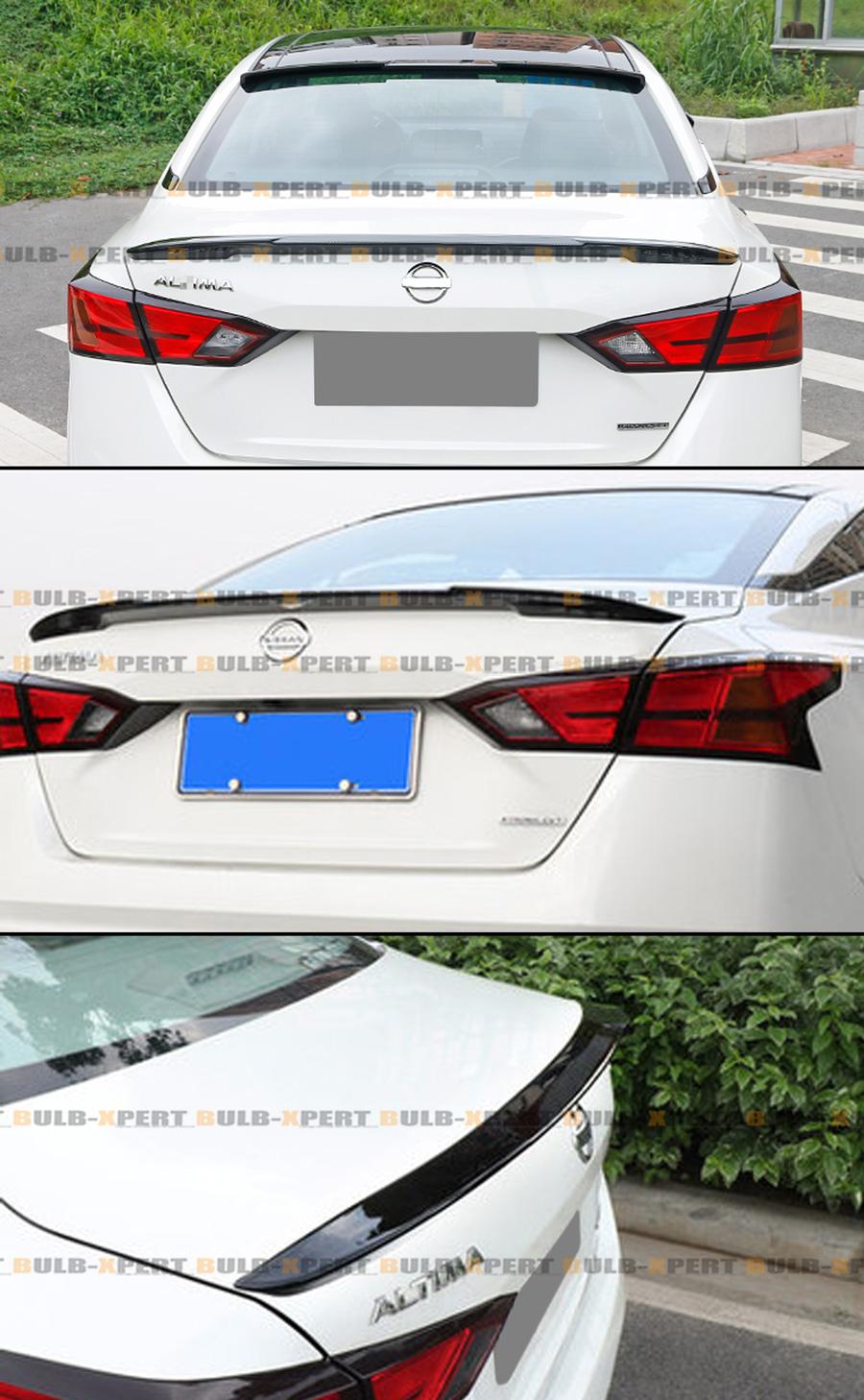 Painted Black Trunk Lip Spoiler R For Nissan Altima L31 Sedan 02-06 Gen 3