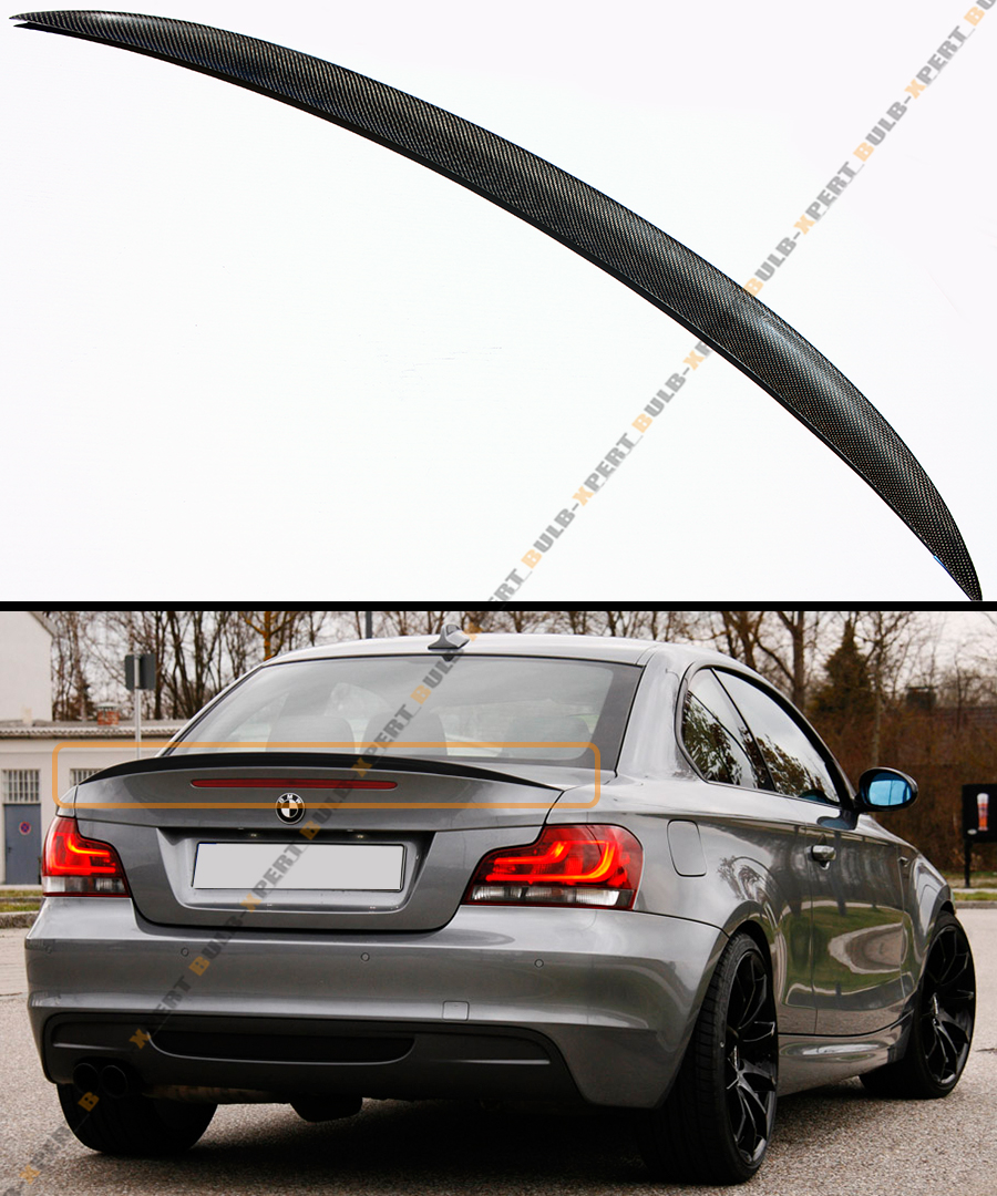 Bmw 128i Price: Carbon Performance Style Trunk Spoiler Wing For 07-13 BMW