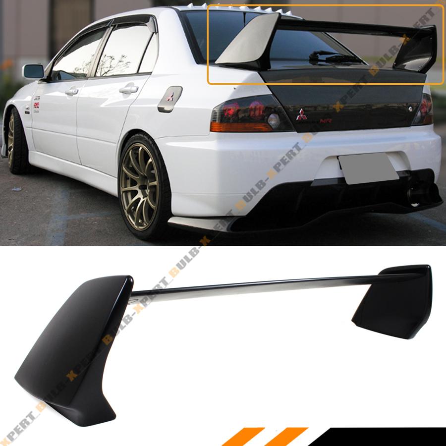 Mitsubishi Evo 9 Mr For Sale: For 2002-07 Mitsubishi Lancer Evo 7 8 9 Matt Black Evo