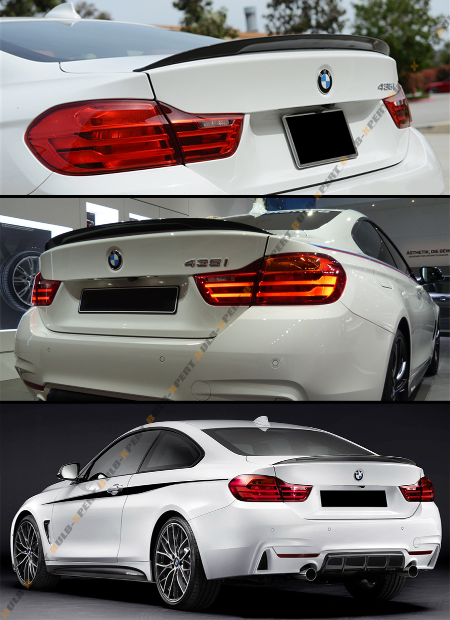performance style primered frp trunk spoiler wing for bmw. Black Bedroom Furniture Sets. Home Design Ideas