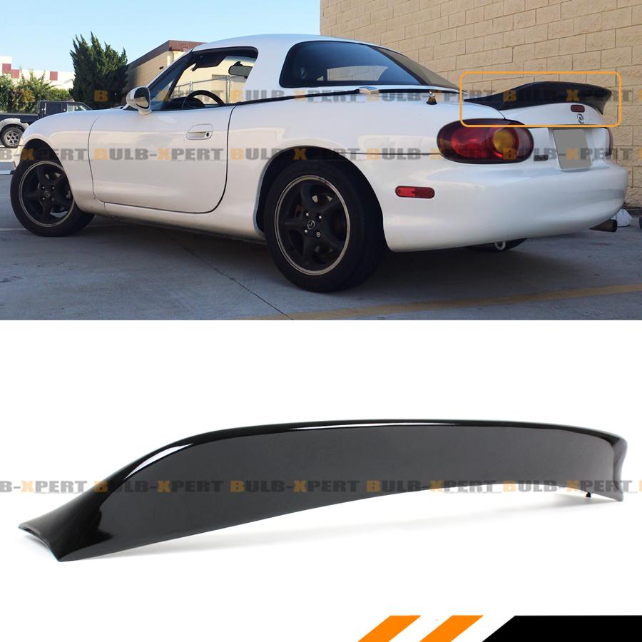 For 1999-05 Mazda Miata NB 2nd Gen Carbon Fiber Extended Big Trunk Spoiler Wing