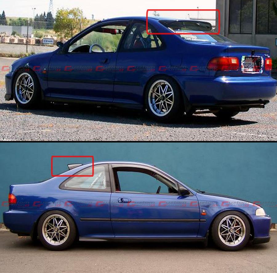 Honda Civic Coupe: 1992-95 5TH GEN HONDA CIVIC COUPE EJ1 EJ2 JDM SMOKE REAR