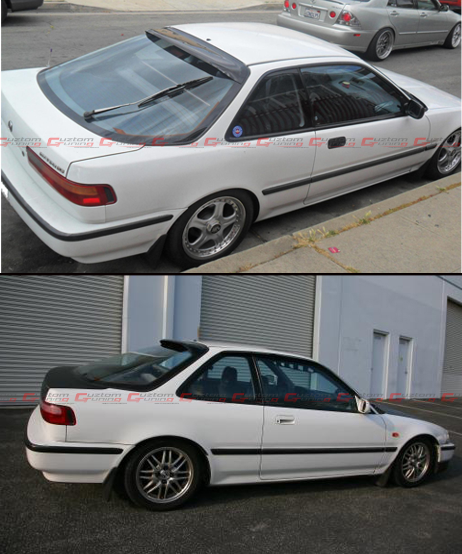 HIC 1990-93 ACURA INTEGRA DA 9 2 DR JDM SMOKE TINTED REAR