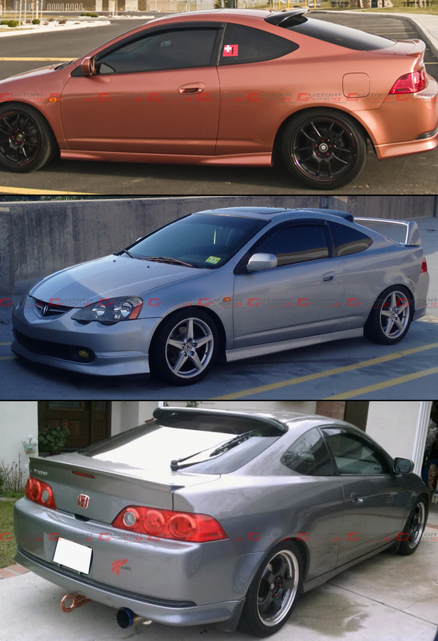 Used Acura For Sale >> For 02-06 Acura RSX DC5 Type-S JDM Style Smoke Tinted Rear ...