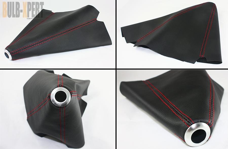 fits mazda 3 6 rx8 rx7 miata leather chrome shifter knob