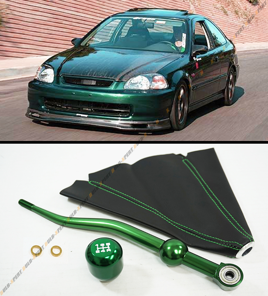 88 2000 honda civic green dual bend short shifter type r. Black Bedroom Furniture Sets. Home Design Ideas