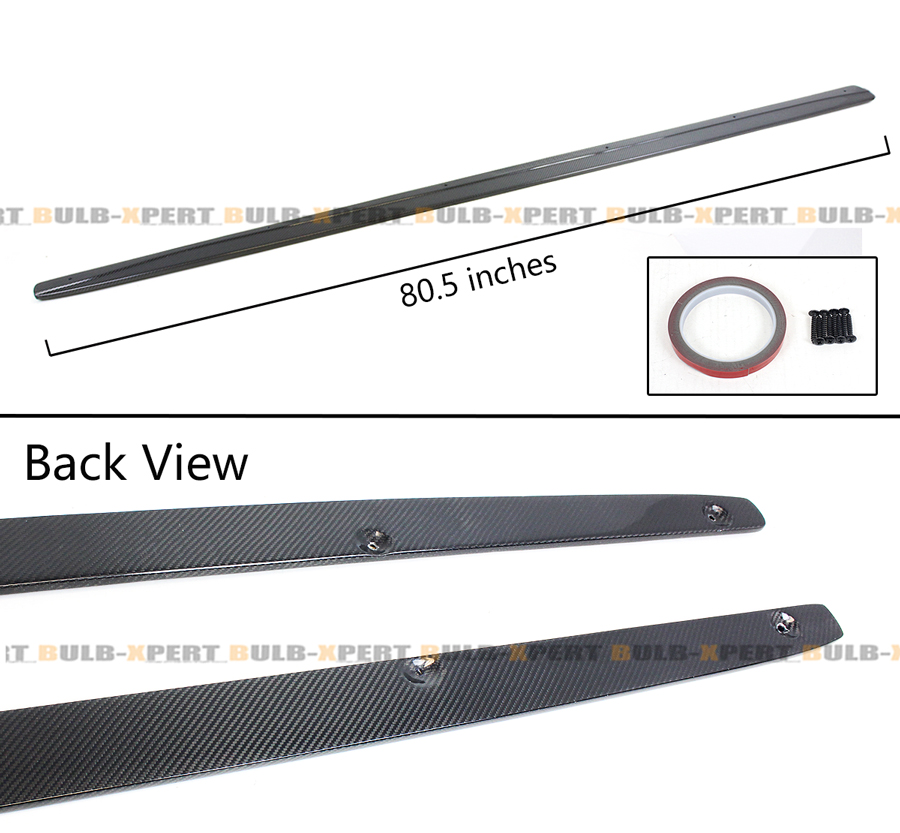 For 14-2020 BMW F32 F33 F36 4 Series Carbon Fiber Side