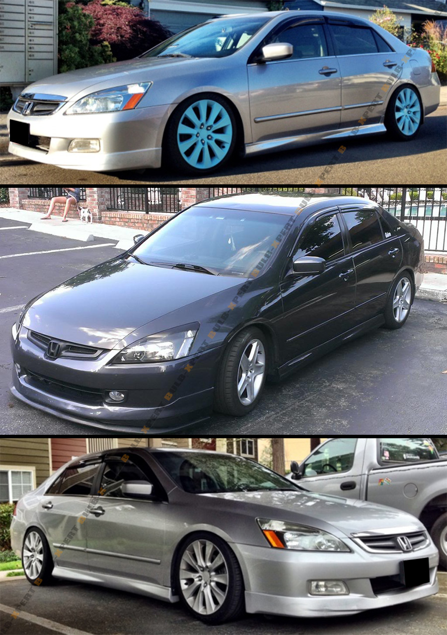 jdm accord honda visor 2003 2007 window rain mugen smoked shade sun vent 7th wavy cuztom tuning amazon